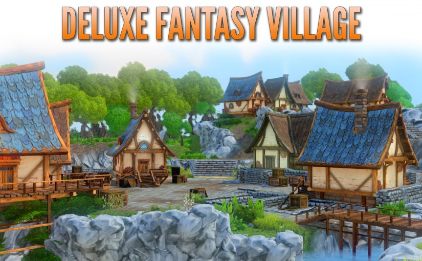 Out now: The Deluxe Fantasy Village asset pack is here!