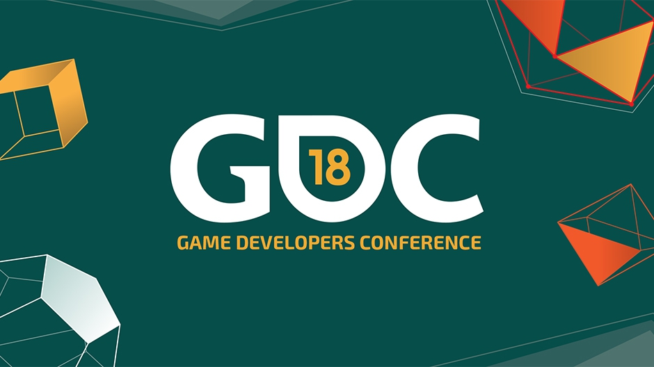 The official logo of the GDC 2018.